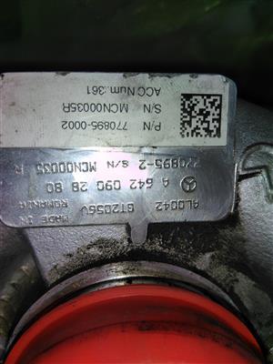 Mercedes Benz Diesel Garrett GT2056V Turbo
