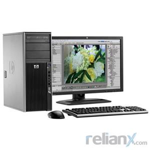 "HP Z400 Workstation - Intel Quad Core Xeon 2.6Ghz / 8GB Memory / 1TB HDD / 1GB GPU / 19"" LCD / Tower"