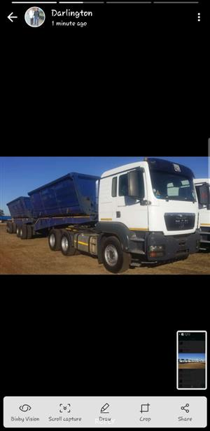 20 x 34ton side tippers needed argently