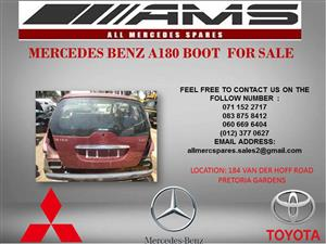MERCEDES BENZ A180 BOOT FOR SALE