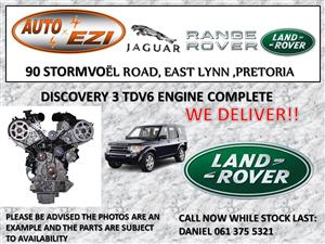 Land Rover Discovery 3 TDV6 engine