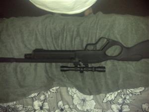 Pcp air rifle hatsan vectis lever action