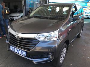2014 Toyota Avanza AVANZA  1.3 S