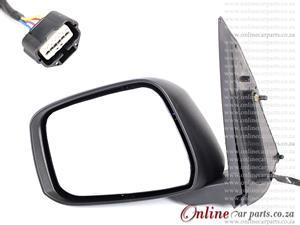 Nissan Navara 2.5 Dci Left Hand Side Electric Door Mirror And Lamp CP 2010-2016