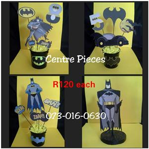 Batman center pieces for sale