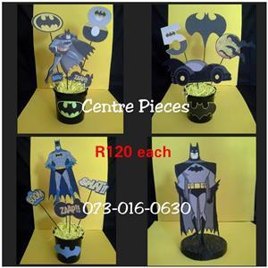 Batman center pieces for sale
