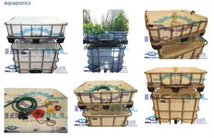 Aquaponics Units and Accessories / Self Sustaining Organic Garden and Fish Farm
