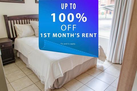 1st Months rent FREE!*