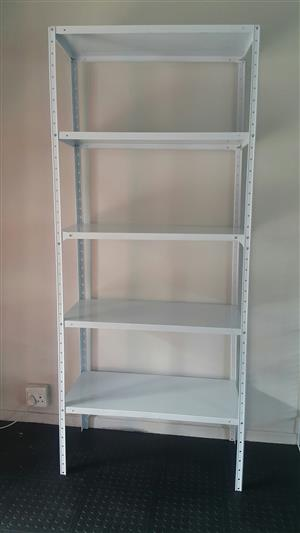 457x914x2200x5 tier bolt and nut shelving
