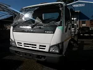 2008 ISUZU NQR 500 SITEC TRUCK - Stripping 4 spares only. 4HE1 T engine, 6 sp