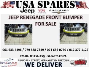 JEEP RENEGADE FRONT BUMPER FOR SALE