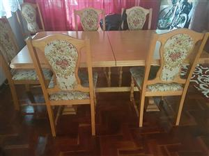 Diningroom table for sale.