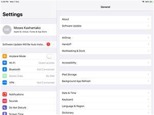 iPad 6 Generation 128gig 4G+WiFi