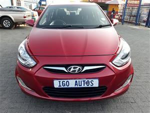 2013 Hyundai Accent sedan 1.6 Fluid