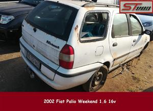 2002 Fiat Palio Weekend 1.6 16v, Stripping for Spares