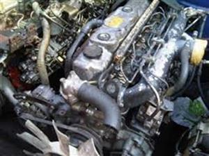 Complete Second hand used ISUZU ENGINES