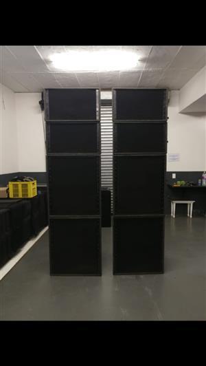 FOR SALE : Nexo Alpha E sound system