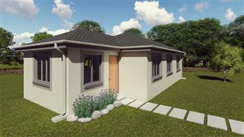 Newly built house in Protea Glen