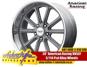 VN507 20 inch American Racing alloy wheels