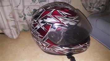 Red vega helmet for sale