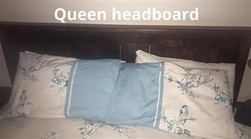 Queen headboard for sale