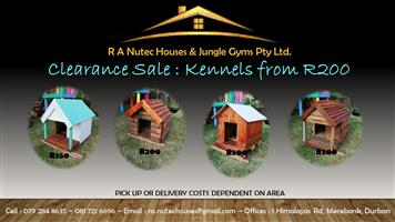 KENNELS CLEARANCE SALE