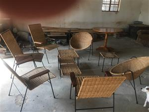 Patio chairs set
