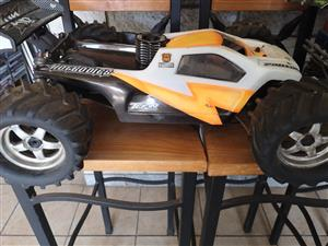 Nitro Remote car with a Werks B6 Pro racing motor