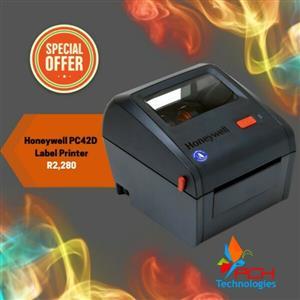 Honeywell PC42D Direct Thermal Label Printer - R2280
