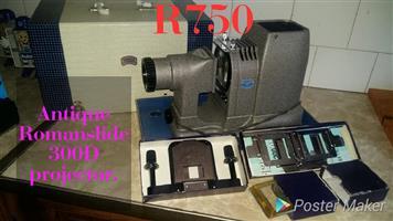 Antique Roman slide projector for sale