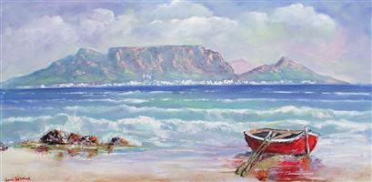 Saturday afternoon painting classes, Melkbosstrand