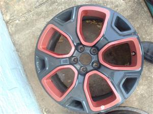 114 PCD 5 HOLE RIMS (CAME OFF A JEEP CHEROQUE)