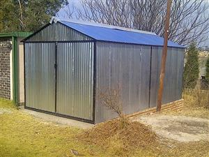 Steel huts for sale ,0663478429 we supply quality steel zozo with galvernised sheets & steel ,wth affordable prices