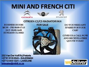 Citroen c3 radiator for sale