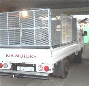 Galvanized high volume steel cage for Kia k2700/Hyundai h100 for sale