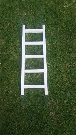 1m white Ladder for hire