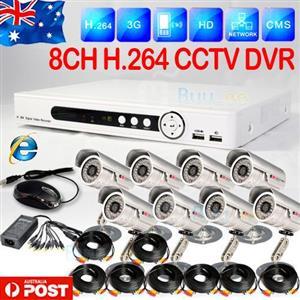 8 Channel HD-DVR/ CCTV Kit(security)