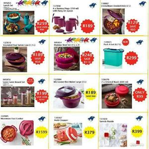 Tupperware sales - Tembisa and Pretoria CBD. You are welcome to contact me for orders or joining. 0790943897