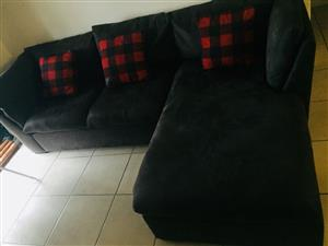 Grafton Everest Suede Couch for Sale
