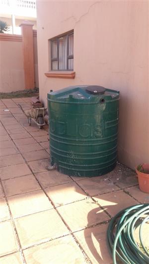 1000 liter water tank