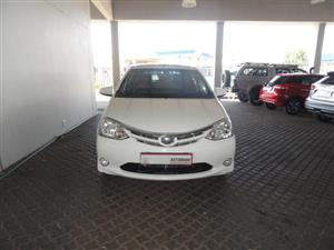 2016 Toyota Etios sedan 1.5 Sprint