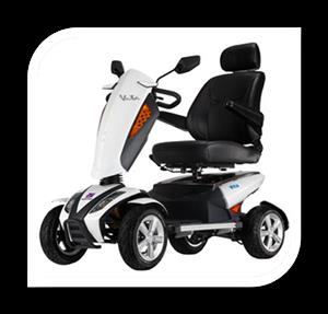 MR WHEELCHAIR - OFF ROAD TYPE MOBILITY SCOOTER VITA S12 - NEW R50K DELIVERED IN SA