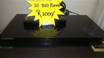 BLU-RAY 3D DVD PLAYER