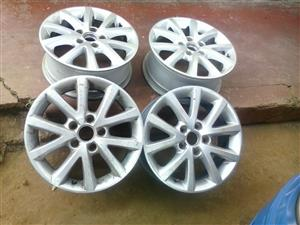 16 inch VW POLO 6, golf & jetta 4 and 5