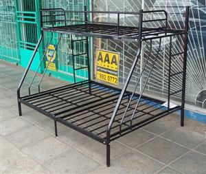 Brand New Steel Tri-Bunk Beds