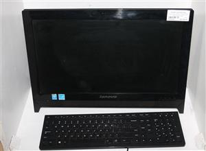 LENOVO ALL IN ONE PC 500GB INTEL PENTIUM WITH MOUSE KEYBOARD AND POWER CABLE S038034A #Rosettenvillepawnshop