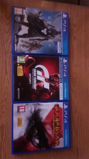 3 Playstation games to sell  or swop