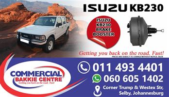 isuzu kb230 brake booster