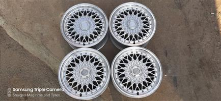 15 Inch Lenso BSX rims