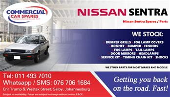Nissan Sentra 87- parts and spares for sale